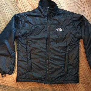 North Face Black Nylon and polyester fill jacket